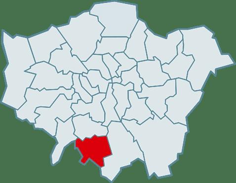 barking and dagenham map